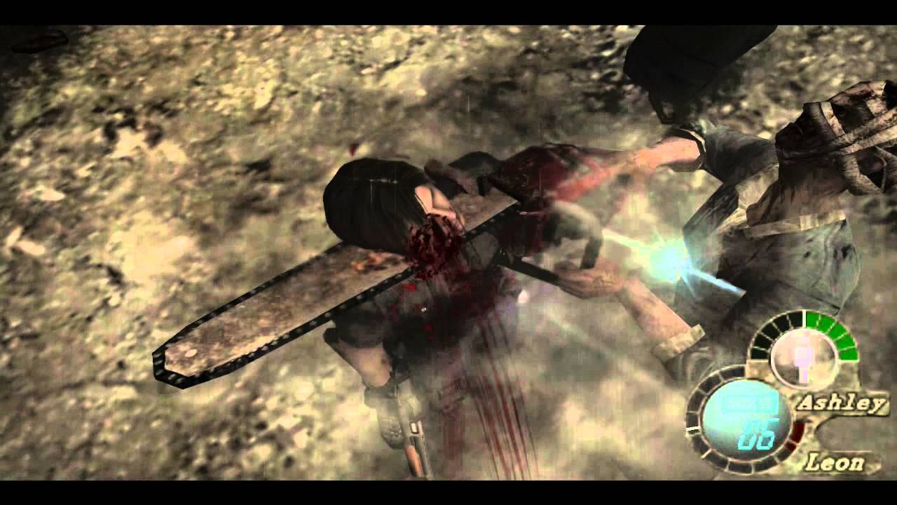 Resident Evil 4 Bella Sisters Chainsaw Deaths [HD] - YouTube