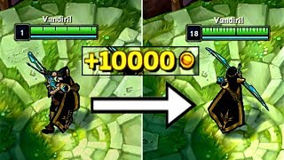 How much Gold is every LEVEL worth in League of Legends?