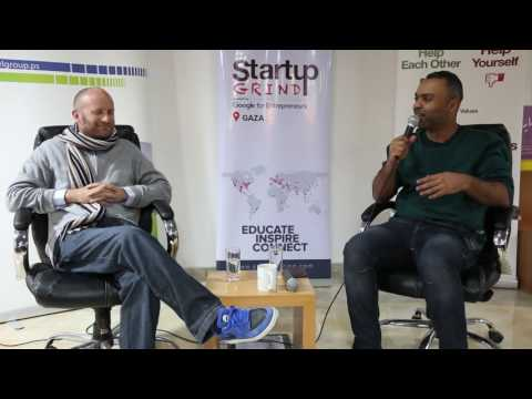 Tom Sperry (Rogue Venture Partners) at Startup Grind Gaza