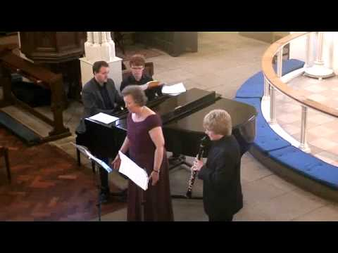 Ben Westlake Clarinet Sally Mears Mezzo Soprano - Schubert The Shepherd on the Rock