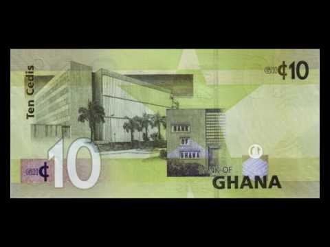 All Banknotes of Ghanaian cedi - 1 Cedi to 50 Cedi - 2007 to 2014 Issue in HD