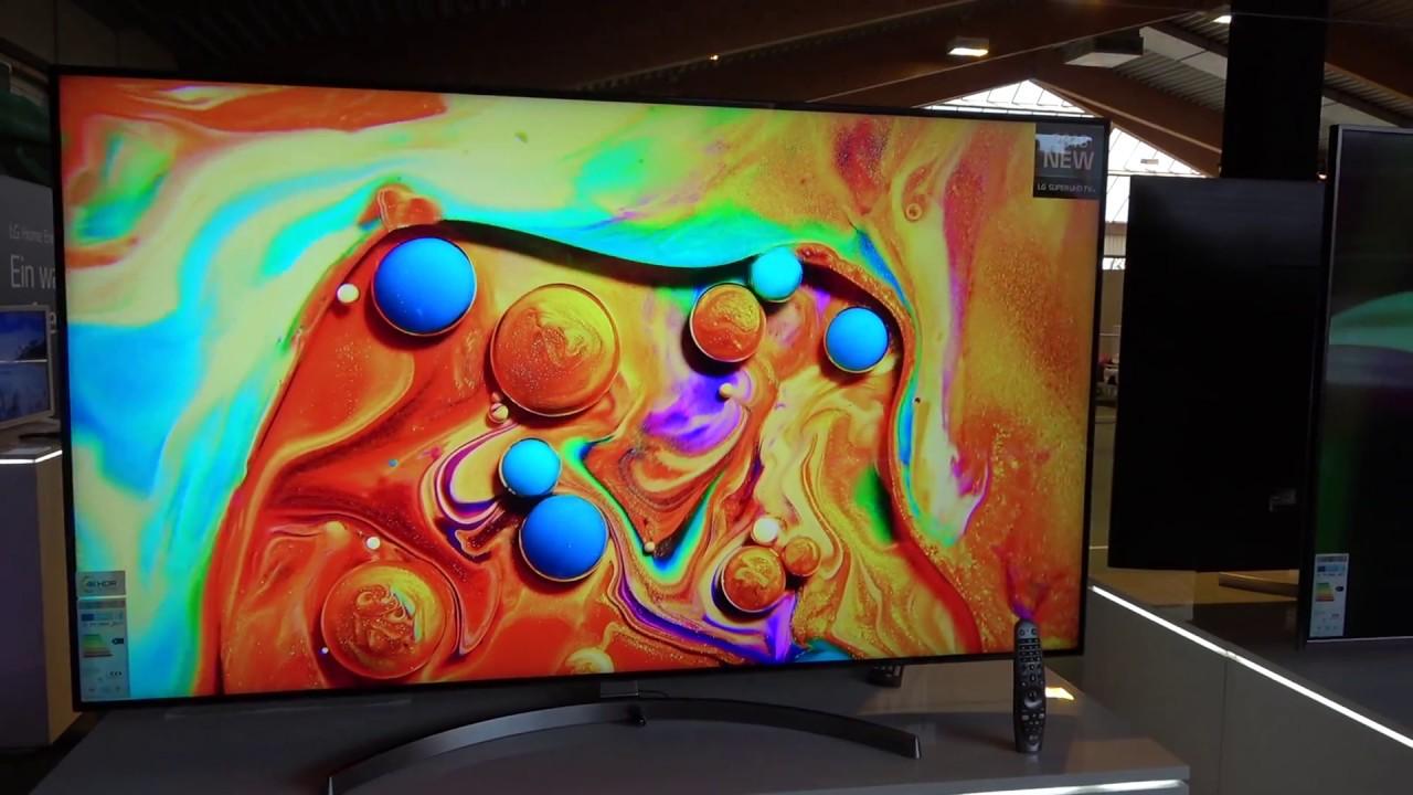 SK85 - LG SUPER UHD TV 2018 mit Alpha 7 Prozessor (Roadshow 2018 ...