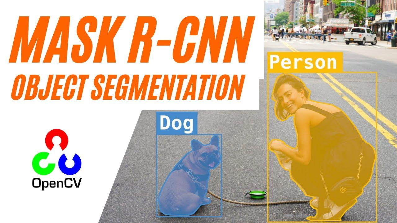 Instance Segmentation MASK R-CNN   with Python and Opencv