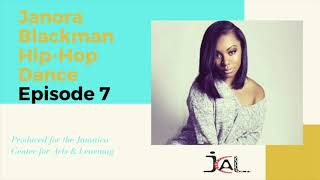 """How to do """"The Bart Simpson"""" and """"The Push it Dance"""". JCAL Education at Home with Janora Blackman"""