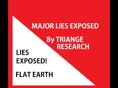 Lies Exposed-Flat Earth Triangles Part 2 & Contest Winners