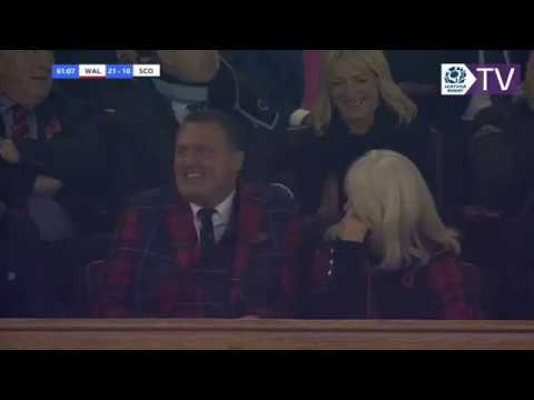 Doddie Weir on the art of the Kiss Cam