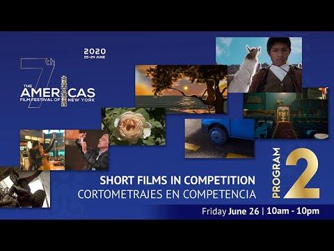 TAFFNY 2020 Virtual Cinema: Short Films Program 2 - YouTube