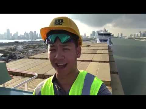 MSC ANS - Cargo Ship Tour