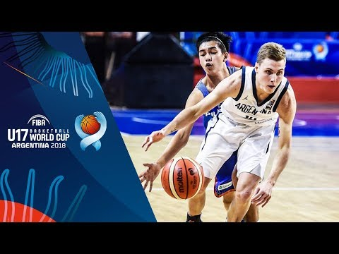 Argentina def. Batang Gilas, 74-71 (REPLAY VIDEO) FIBA U17 Basketball World Cup 2018