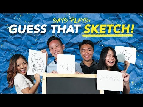 Malaysians Play Draw and Guess | SAYS PLAYS
