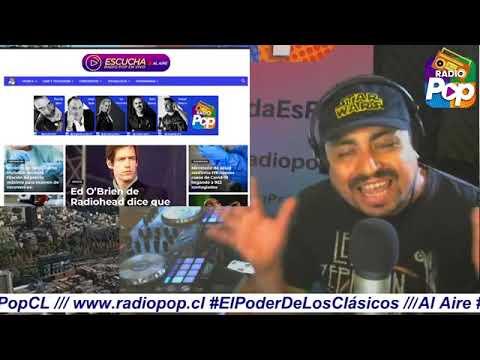 Al Aire #RetroPop con Ismael Pereira Calderón en www.radiopop.cl #ElPoderDeLosClásicos