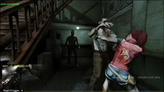 Resident Evil 2 Claire and twitch chat!...