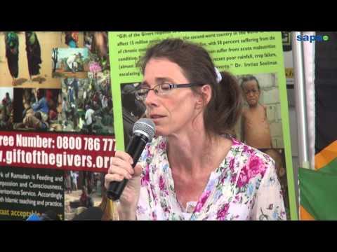 Yolande begs Al Qaeda to free husband