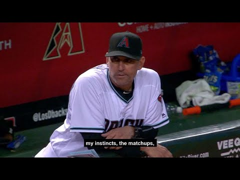 Torey Lovullo prepares for the NL Wild Card Game