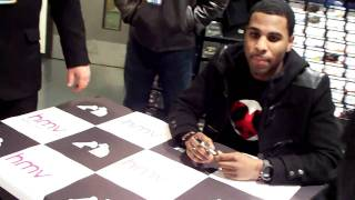 Meeting Jason Derulo (HMV t-Shirt signing 22.02.2010 - Newcastle)