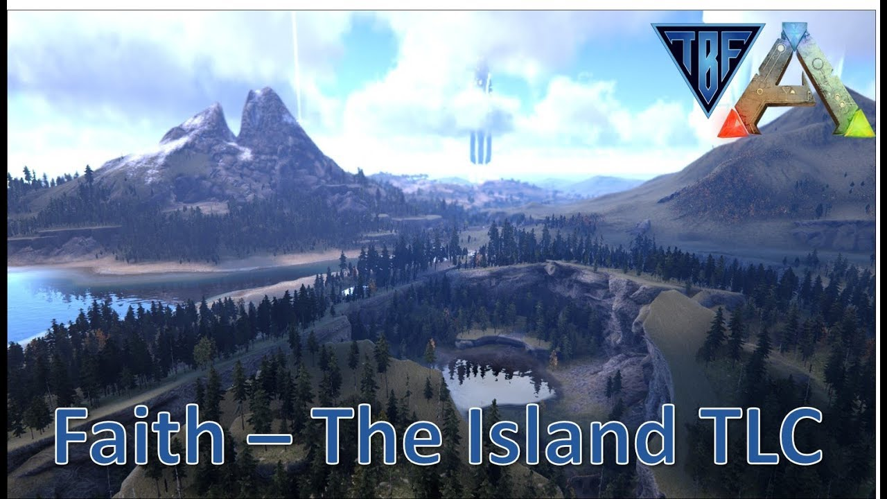 Faith - The Island TLC - 1 Day of Survival - some flying around to check out the progress so far!