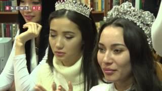 Финалистки «Мисс Казахстан 2015» посетили Дом престарелых (ВИДЕО, ФОТО)