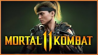 MORTAL KOMBAT 11 - Official Sonya Blade Reveal Gameplay Trailer 2019 (Switch, PC, PS4 & XB1) HD