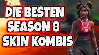 the best SEASON 8 Skin Combinations (too crass)🔥 Fortnite English | Simex Fortnite