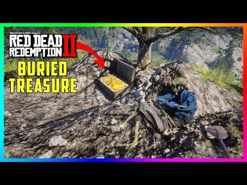 There Is A HIDDEN Buried Treasure In Red Dead Redemption 2 & It's Filled With Gold To Take! (RDR2) thumbnail