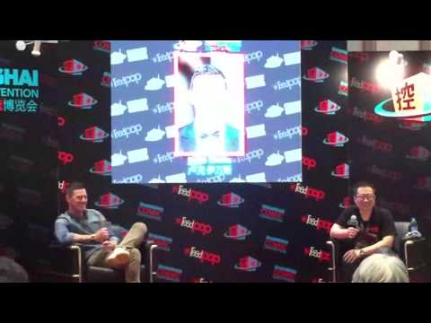Shanghai Comic Convention Luke Evans (Full)