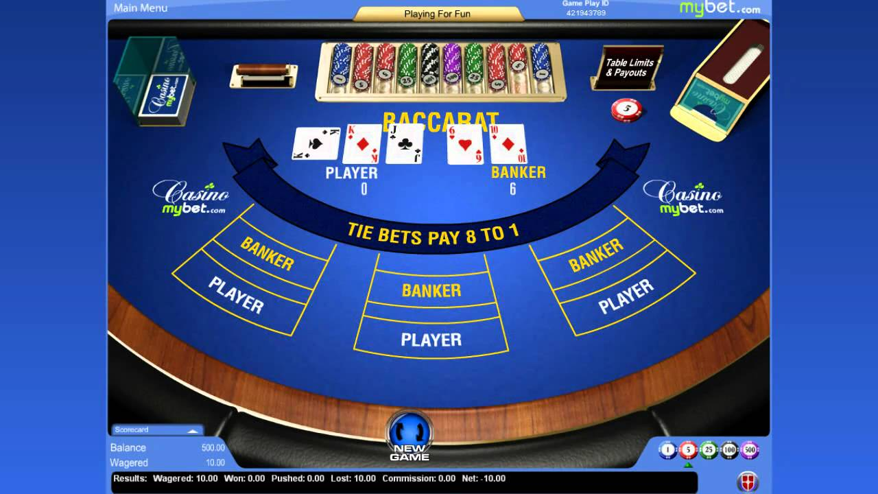 My Bet Casino Free