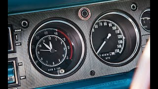 How to install a Tach on a 1969 Dodge Charger