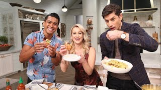 Jordan Andino Puts Queso On Everything! - Pickler & Ben