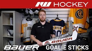 Bauer Supreme 2S Pro & Vapor 1X Goalie Stick Insight