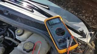 Opel Astra Sedan Akü Değiştirme - Akü Ölçme - Akü Ekran Hataları -  ESP Hatası