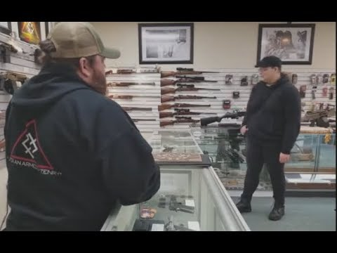 Antifa Member VS Gun Shop Owner (Charges Were Pressed)