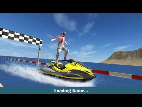 Jetski Racing Stunts - jet ski racing games - Gameplay Android game