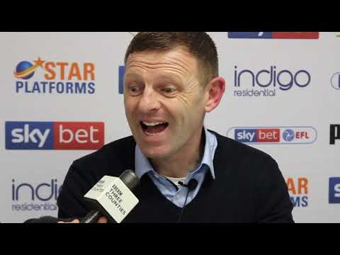 Graeme Jones on the victory over Sheffield Wednesday