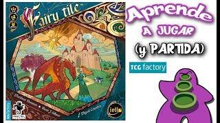 Fairy Tile - Cómo se juega - Reseña y Partida - Juego de Mesa