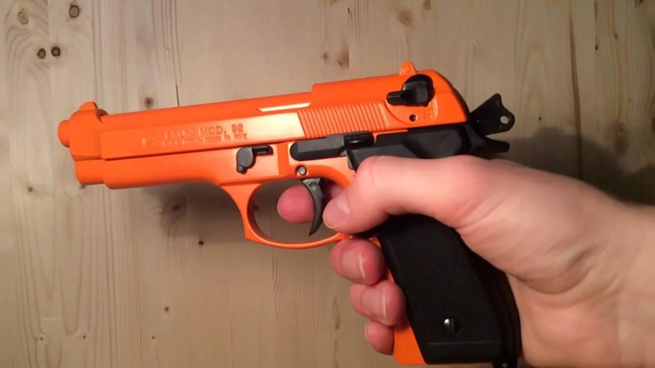 BBM Beretta M9 Blank Gun 8mm UK Review 2014