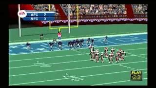 Madden  NFL 2002 All Star Game AFC vs NFC