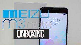 Meizu M3 Note (Grey) Unboxing