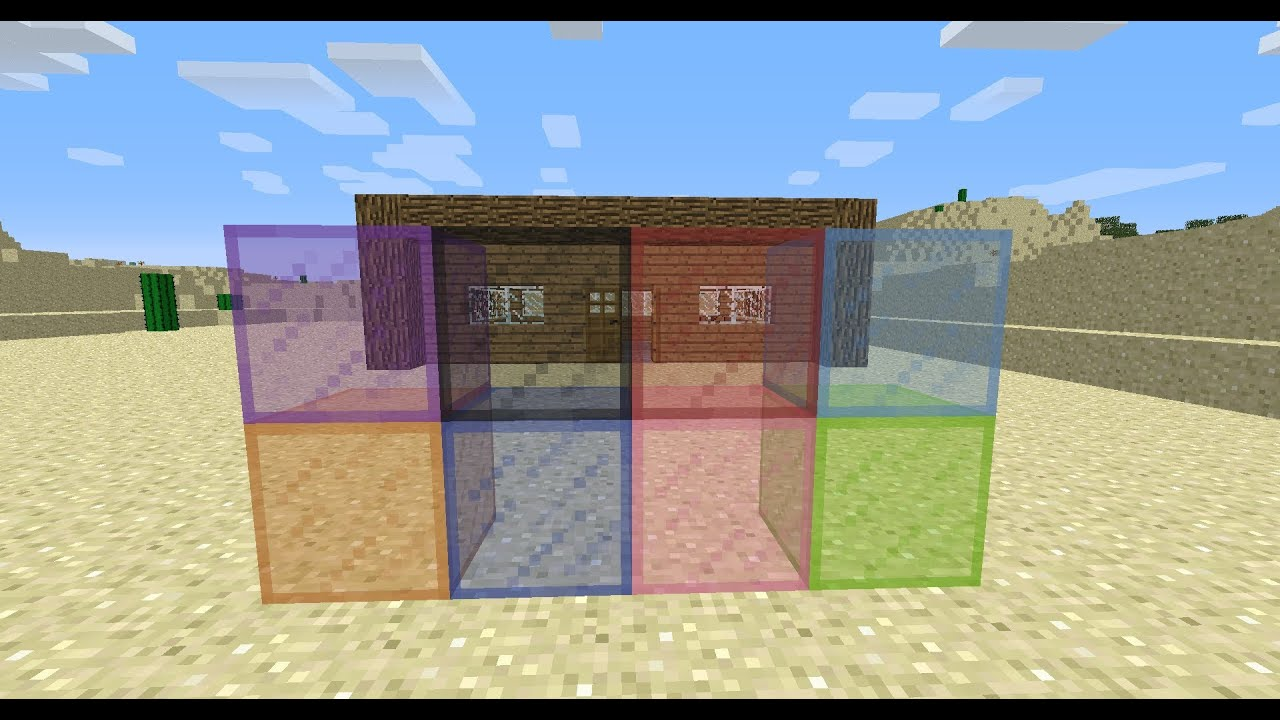 how to make stained glass panes in minecraft