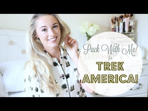Pack With Me!  Trek America - Camping in California!   |   Fashion Mumblr