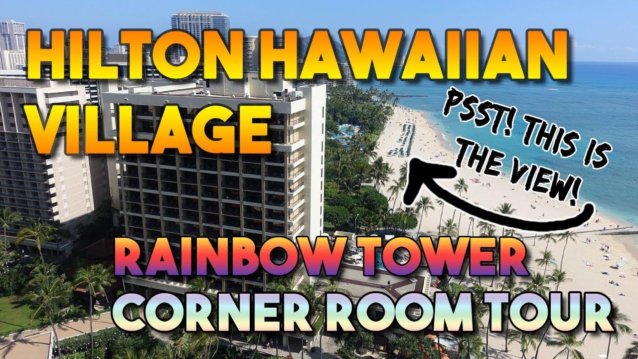 Hilton Hawaiian Village Rainbow Tower Corner Room