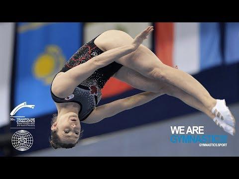 2018 Trampoline Worlds, St. Petersburg (RUS) - HIGHLIGHTS – Women's Trampoline – We Are Gymnastics !