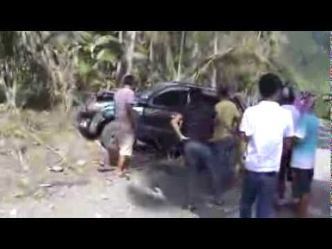 car accident on makaling sigaboy davao oriental