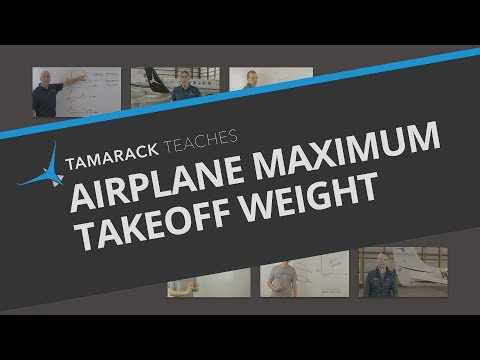 Airplane Maximum Takeoff Weight Explained