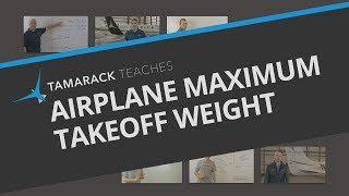 Airplane Maximum Takeoff Weight Explained