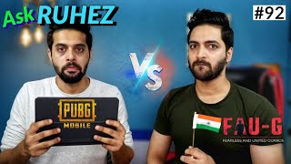 #AskRuhez - FAU-G vs PUBG,realme SD765G Phone India,PUBG Sept 8 Update,Oneplus Clover Sept