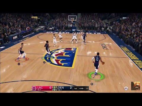 NBA LIVE 19 2020 ROSTERS LA CLIPPERS Vs DENVER NUGGETS LIVE STREAM