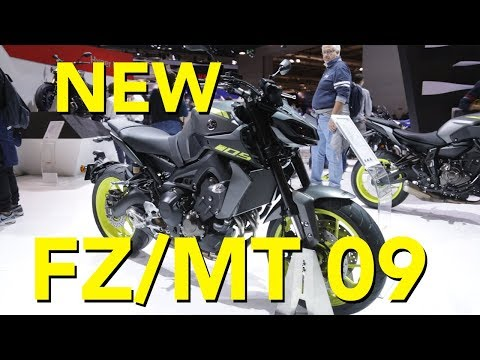 2018 Yamaha  MT-09 First Look
