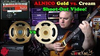 Celestion Alnico Cream vs. Alnico Gold Shoot-Out!