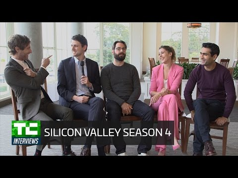 Sneak peak at upcoming Silicon Valley season with the cast