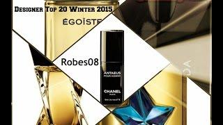 Top 20 Designer Winter Fragrances/Colognes for 2014